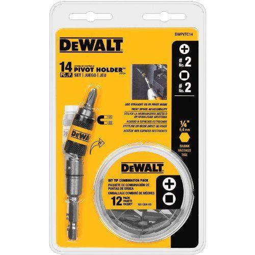 DEWALT DWPVTC14 14piece Pivot Holder Set Model DWPVTC14 Car  Vehicle Accessories  Parts -- For more information, visit image link.