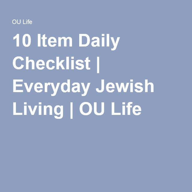 I Wonder What Is On EveryoneS Checklist   Item Daily