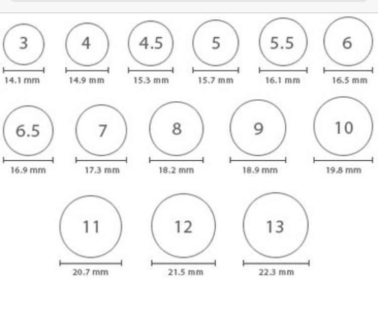 Ring size solved use this pdf from zales to measure at home http images popups ringsizer craft ideas pinterest and also rh