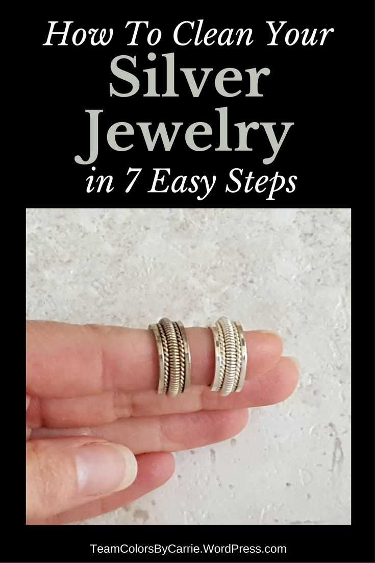 how to clean your silver jewelry in 7 easy steps jewelry care and organization ideas. Black Bedroom Furniture Sets. Home Design Ideas
