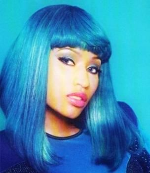 That Colour Blue Is Dankkk Which Hair Colour Retro Hairstyles Different Hair Colors