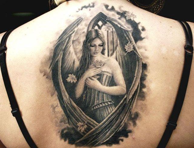 Angel Tattoo By Erich Rabel Tattoo Artists Tattoos