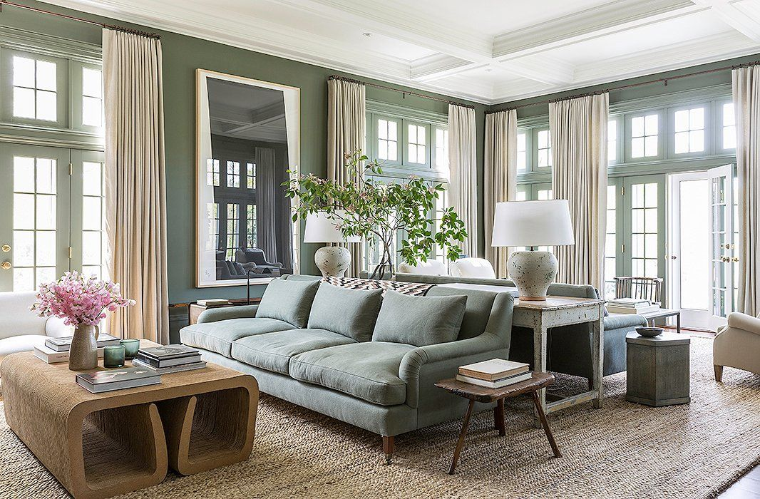 living room sofa two chairs hanging decorations for 4 arrangements to maximize your layout in 2019 if space is large and long dividing it into distinct spaces using back sofas avoids creating a hotel lobby or airport ambience