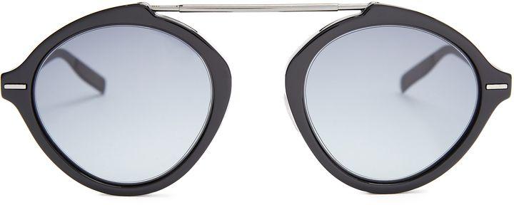 47f4a34e1e771 DIOR HOMME SUNGLASSES System Sub round-frame sunglasses