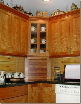 Upper Corner Kitchen Cabinet Ideas | Under the Boardwalk (Three of Four)
