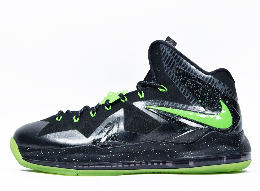 nike lebron 10 elite oregon ducks custom 3 Nike LeBron 10 Elite Oregon Ducks  by DMC