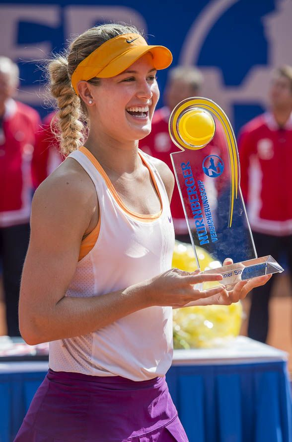 Eugenie Bouchard Award Photo Celebrity News Eugenie Bouchard