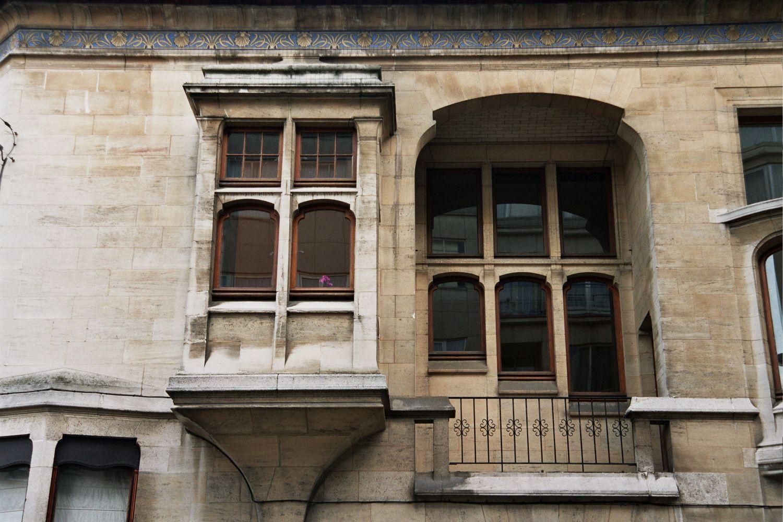 Bruxelles Extension Sud - Hôtel Otlet - Rue de Florence 13 - Rue de Livourne 48 - VAN RYSSELBERGHE Octave