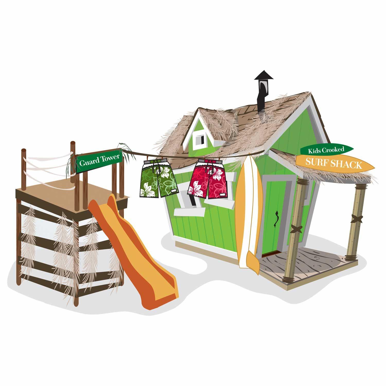 Kids Playhouse - Surf Shacks In 2020