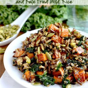 Kale Fried Rice - Iowa Girl Eats