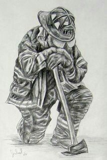 pin by staci lyons on firefighter paintings pinterest