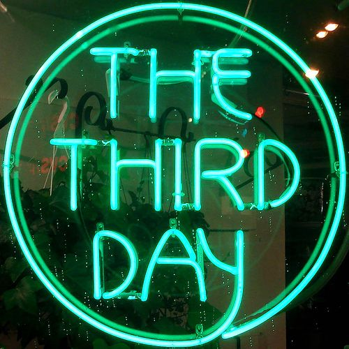'The Third Day' neon - Photography by Tom Magliery, via Flickr