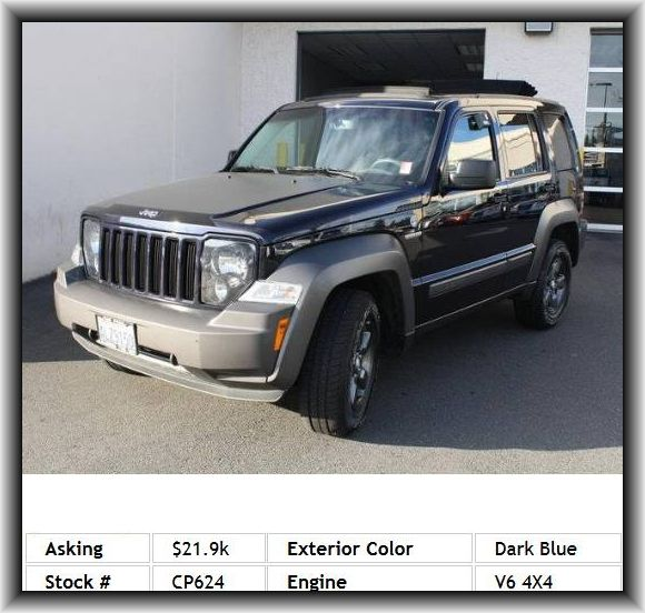 2011 Jeep Liberty Renegade Suv Reading Lights Automatic