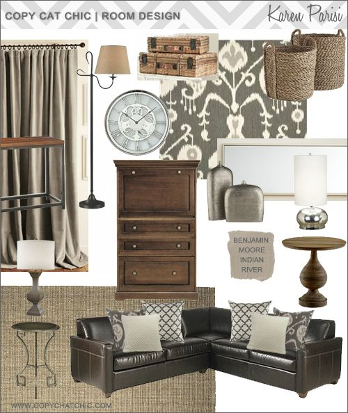 Pin By Karen Crawn On Home Decor: Copy Cat Chic Room Designs