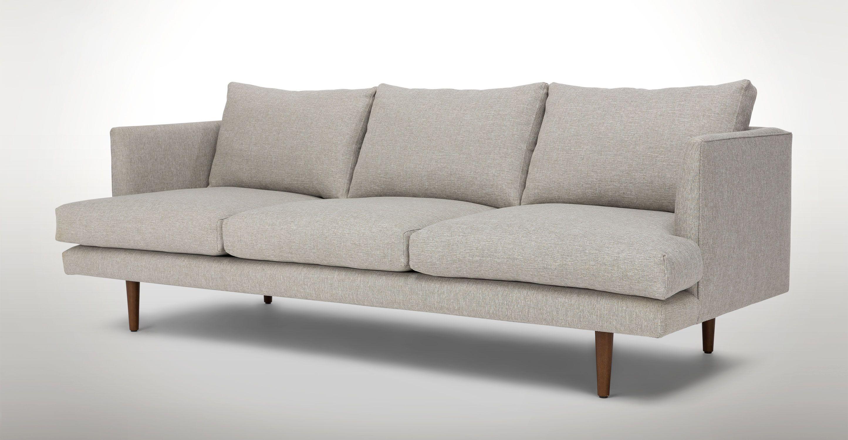 Burrard Seasalt Gray Sofa Sofas Article