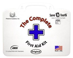 The Complete First Aid Kit Ansi First Aid Kit, White, 2 Pound,$29.95