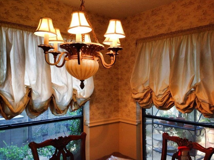 budget blinds signature series roman shades balloon valances from the budget blinds signature series inspired drapes collection installation by of savannah