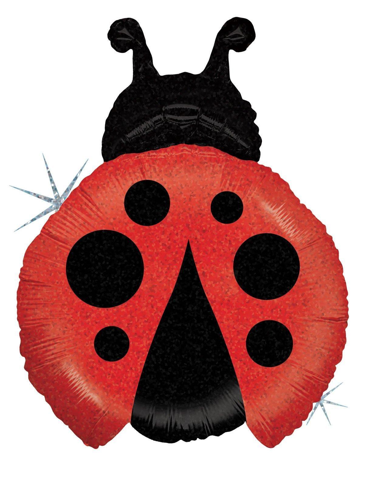 Ladybug Shaped Jumbo Foil Balloon from