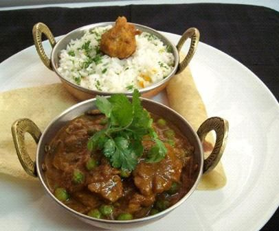 South African Chicken & Prawn Curry by the Fairmont Zimbali Resort