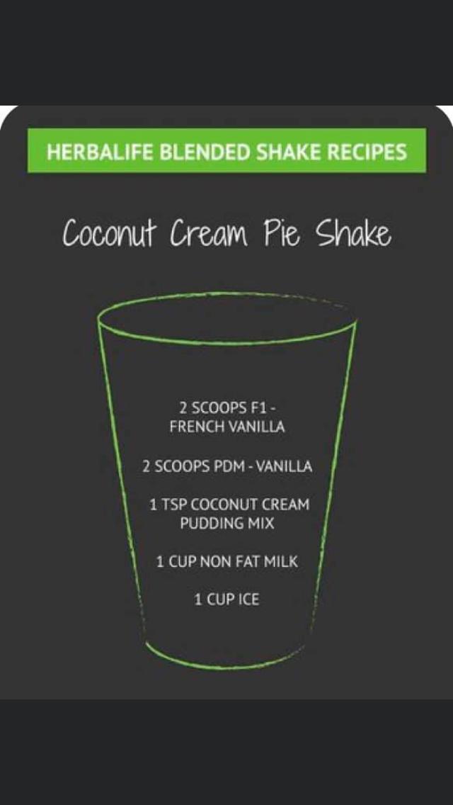 Pin By Makayla Hendrickson On Herbalife Shakes Herbalife Shake Recipes Herbalife Recipes Herbalife Shake