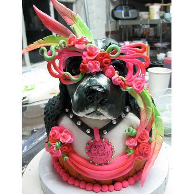 Pleasant This Cake Was Created For Elton Johns 62Nd Birthday It Depicts Funny Birthday Cards Online Necthendildamsfinfo