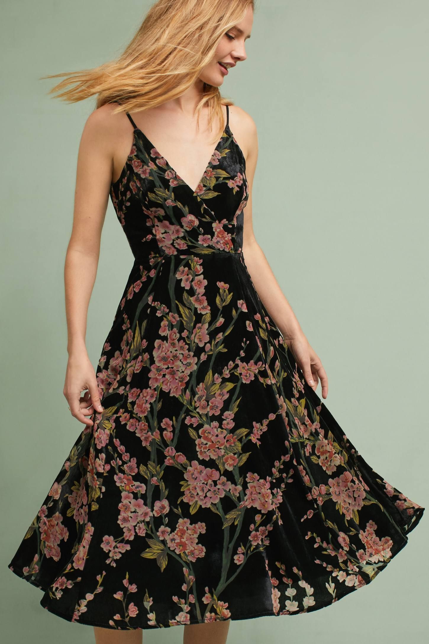 9a6c8bfa086 Shop the Floral Burnout Slip Dress and more Anthropologie at Anthropologie  today. Read customer reviews