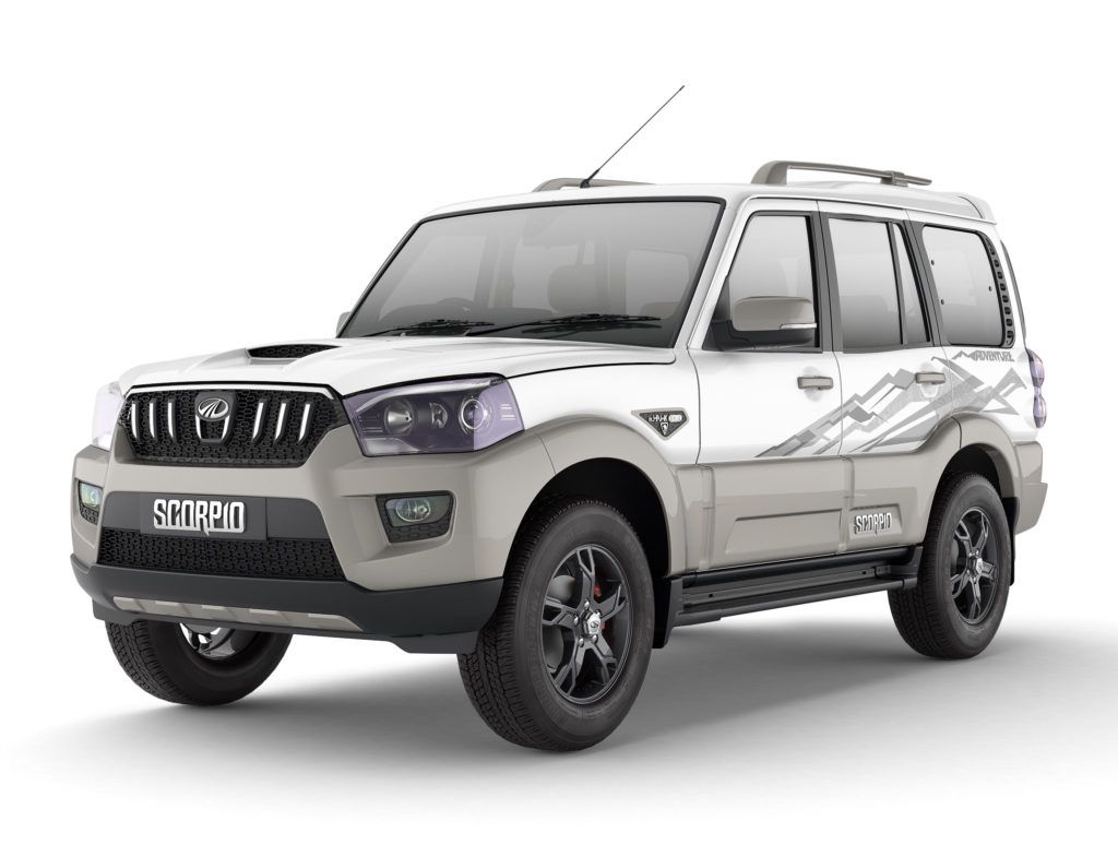 Mahindra scorpio adventure limited edition launched priced at rs the adventure edition is offered in the trim in and variants