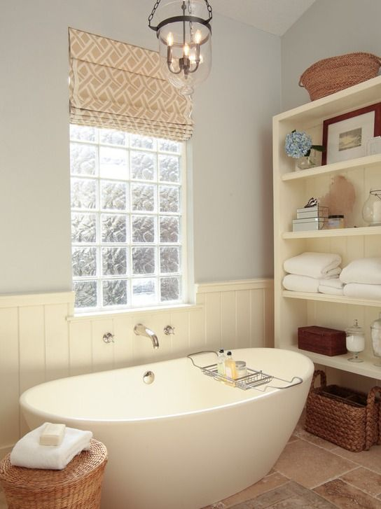 Boyce Acrylic Tub Bathtubs Bathroom Glass Block Windows Bathroom Window Treatments Cottage Style Bathrooms