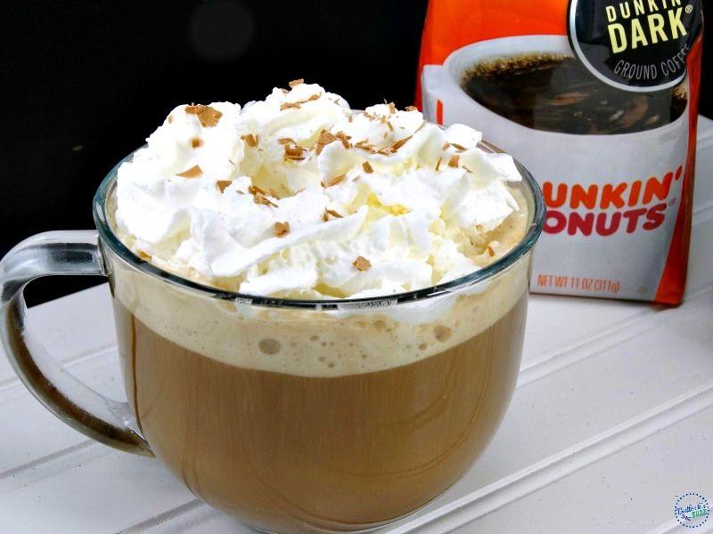 Hazelnut mocha delight coffee recipe diy halloween