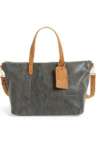 Sole Society 'Oversized Harlan' Faux Leather Tote available at #Nordstrom