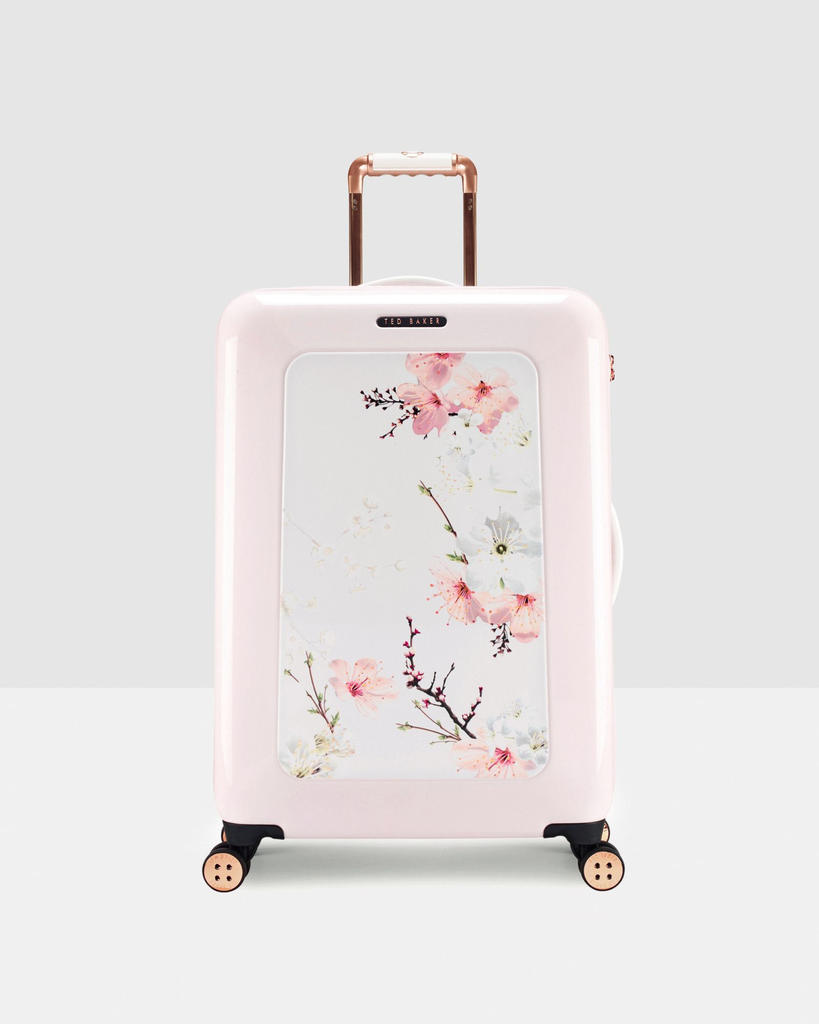 Oriental Blossom medium suitcase - Baby Pink | Bags | Other Europe ...