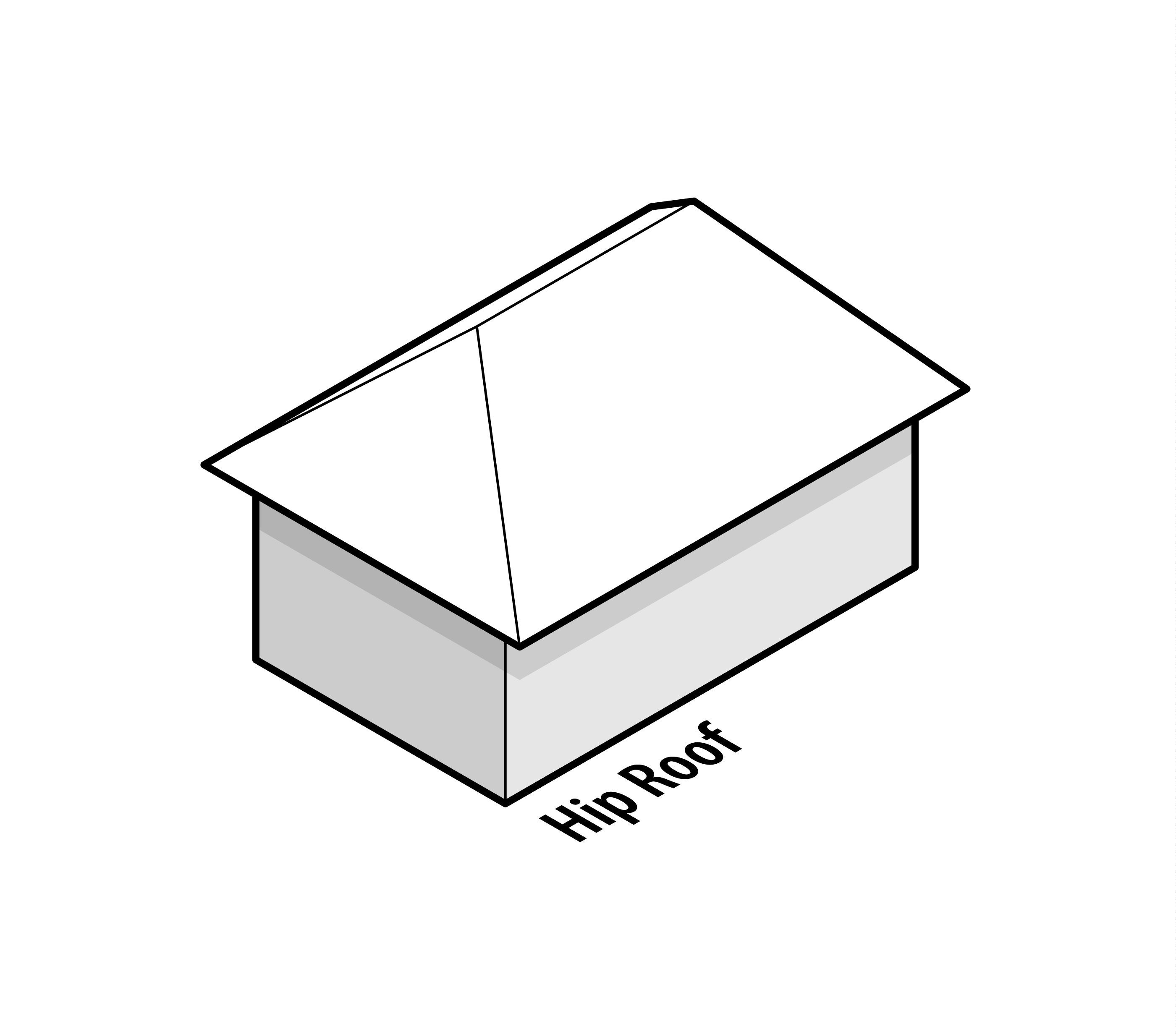 36 Types Of Roofs Styles For Houses Illustrated Roof Design Examples Roof Design Hip Roof Hip Roof Design