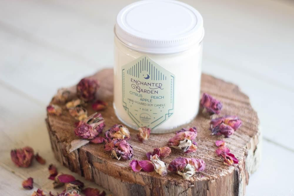 Enchanted Garden Soy Candle Soy candles