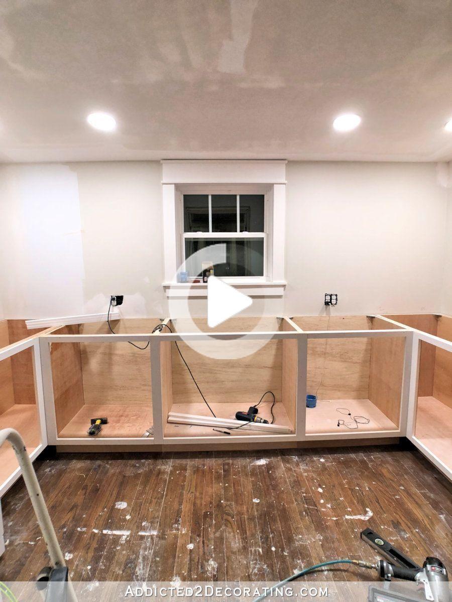 Come Ho Costruito La Mia Lower Base In Armadi E Cassetti In Dispensa In 2020 Kitchen Cabinet Plans Diy Kitchen Diy Kitchen Cabinets