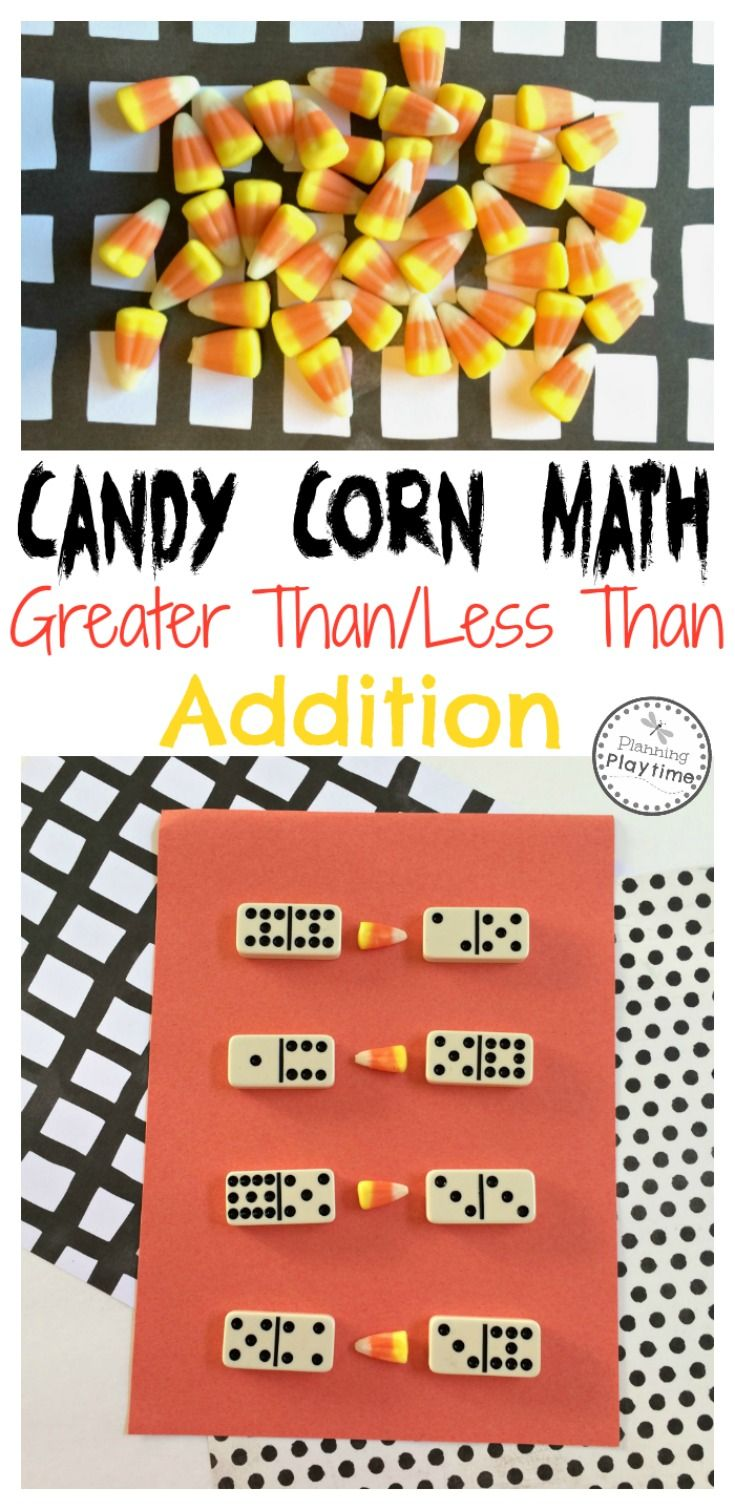 Candy Corn Math Activity Planning Playtime Halloween Math Activities Math Activities Math Night [ 1510 x 735 Pixel ]