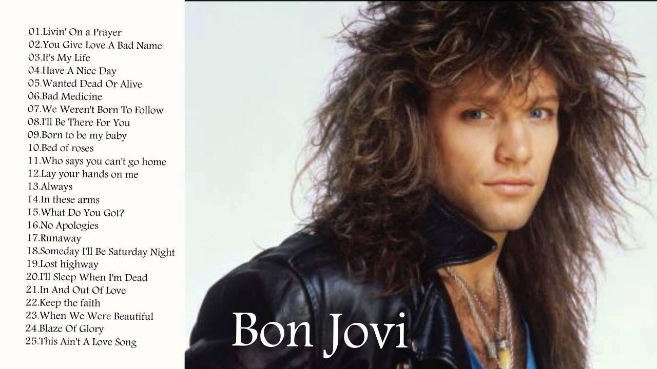 BON JOVI Greatest Hits || Best Songs Of BON JOVI || Album Update 2015