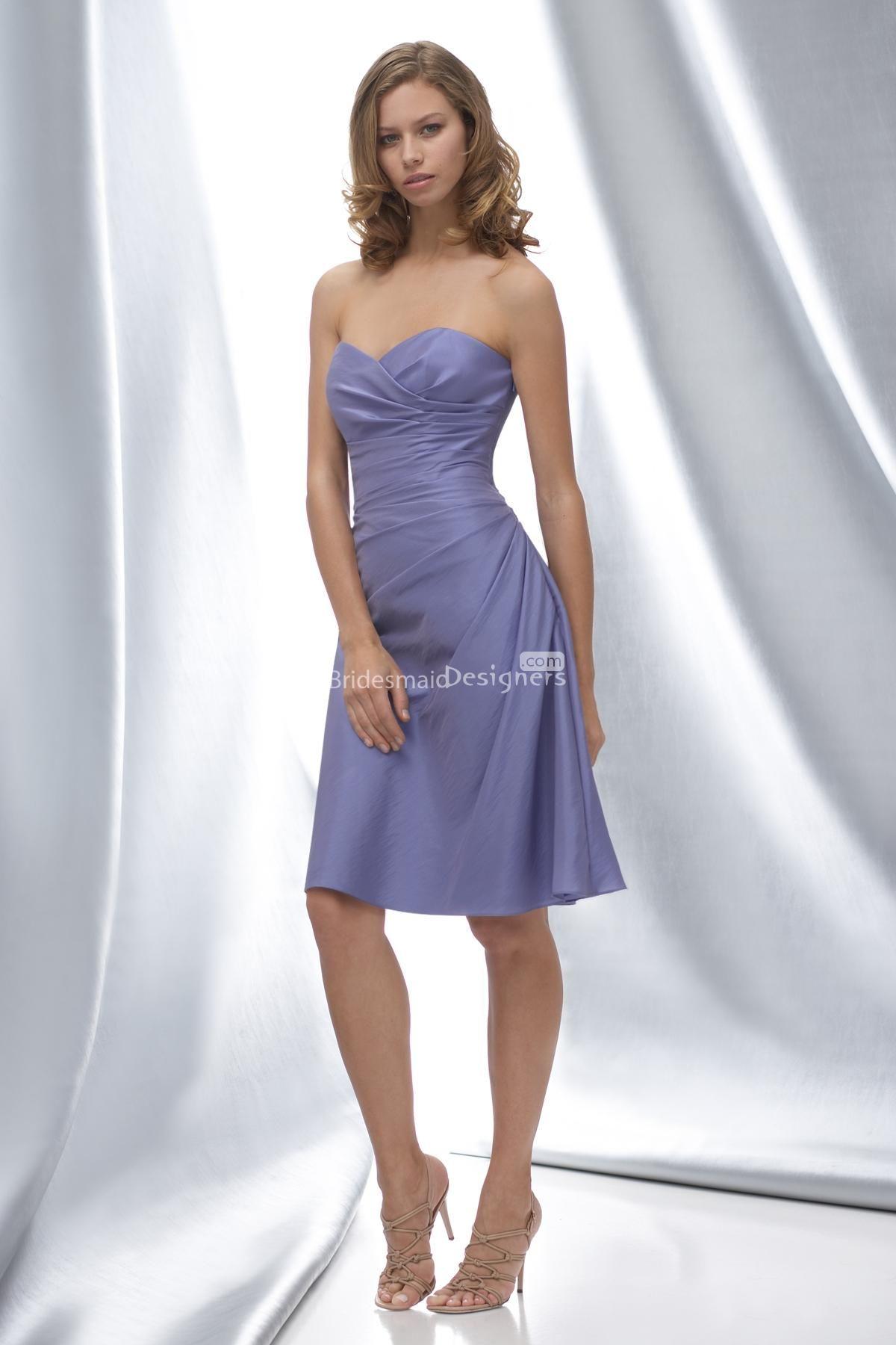 Wedding Bridesmaid Dresses Purple