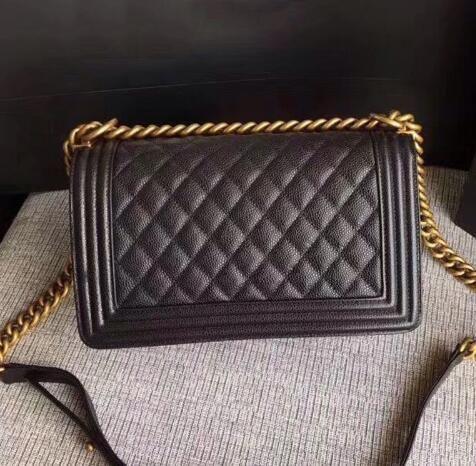 Classic Le Boy Flap Bag Women S Plaid Chain Bag Ladies Luxury High Quality  Handbag Fashion Designer Purse Shoulder Messenger Bags 25.5cm Handbag Sale  ... ddecced5d90f