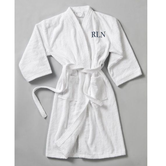 Personalized Robe for him...this soft terry cloth robe with be the coziest  Birthday ea6d93b5b