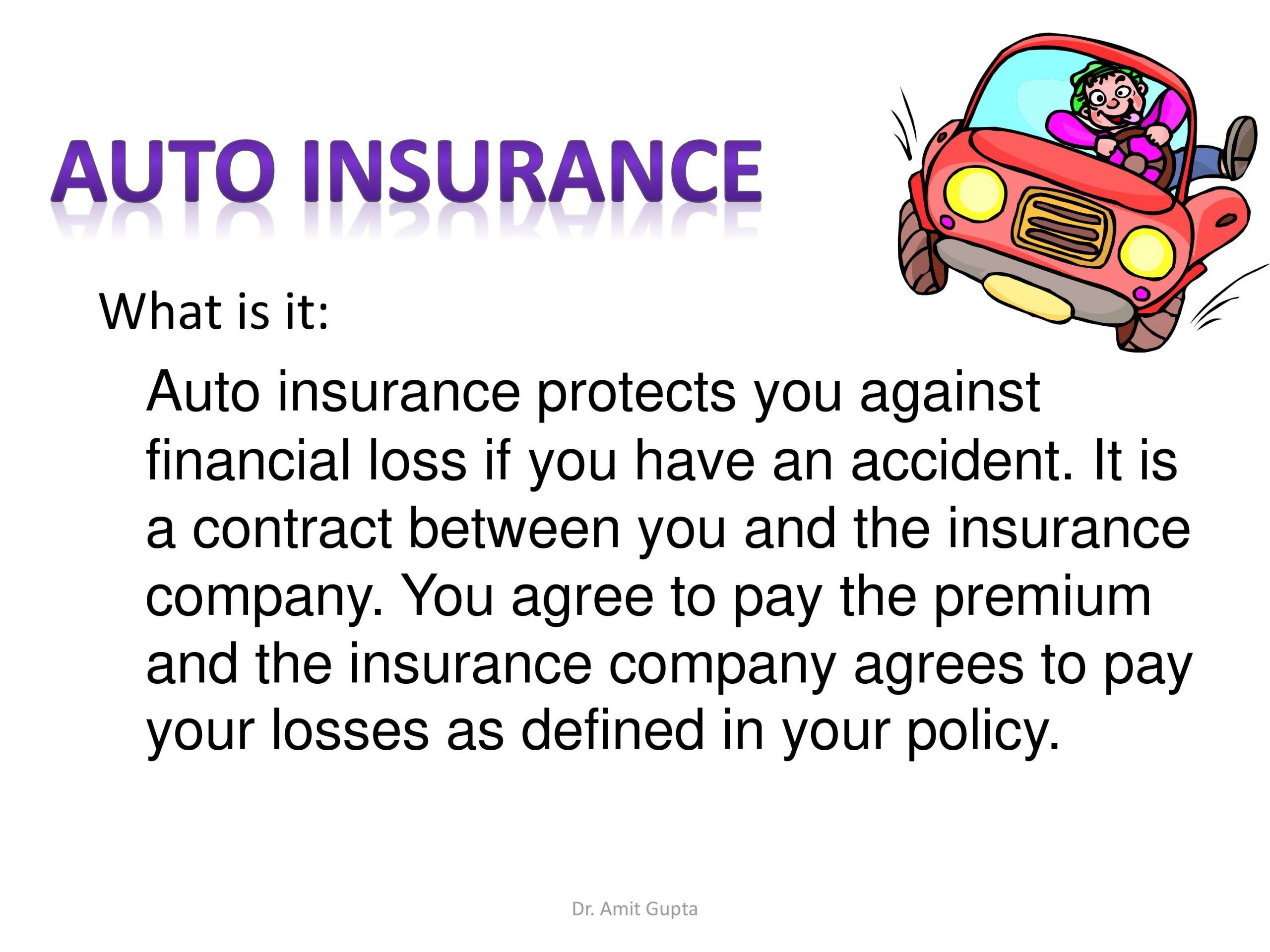 96 reference of Auto Vehicle Insurance Definition in 2020