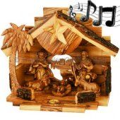 Christmas and Hanukkah is going to be just around the corner soon! Shop with us here in the heart of the Holy Land for Christmas Gifts direct from the places Yeshua (Jesus) walked and preached. We have the largest selection of Olive Wood products including Nativity sets in all sizes, each piece lovingly made by Christian families in Bethlehem. Shipped to you direct from Jerusalem.