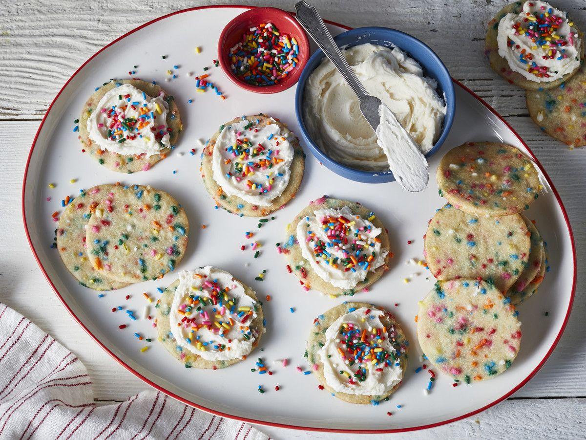 Funfetti Sugar Cookies Recipe