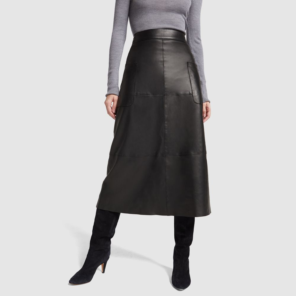 51540e6e2f G. Label Marie Leather A-Line Skirt | Hers. | Leather a line skirt ...
