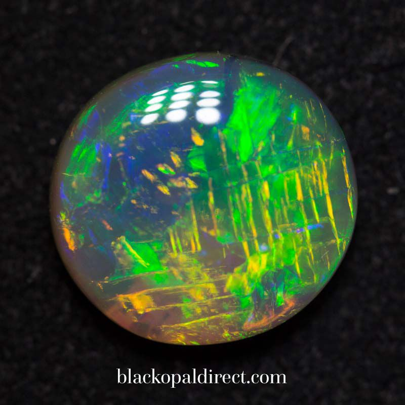 Look at the pattern of this amazing gem opal http://blackopaldirect.com/