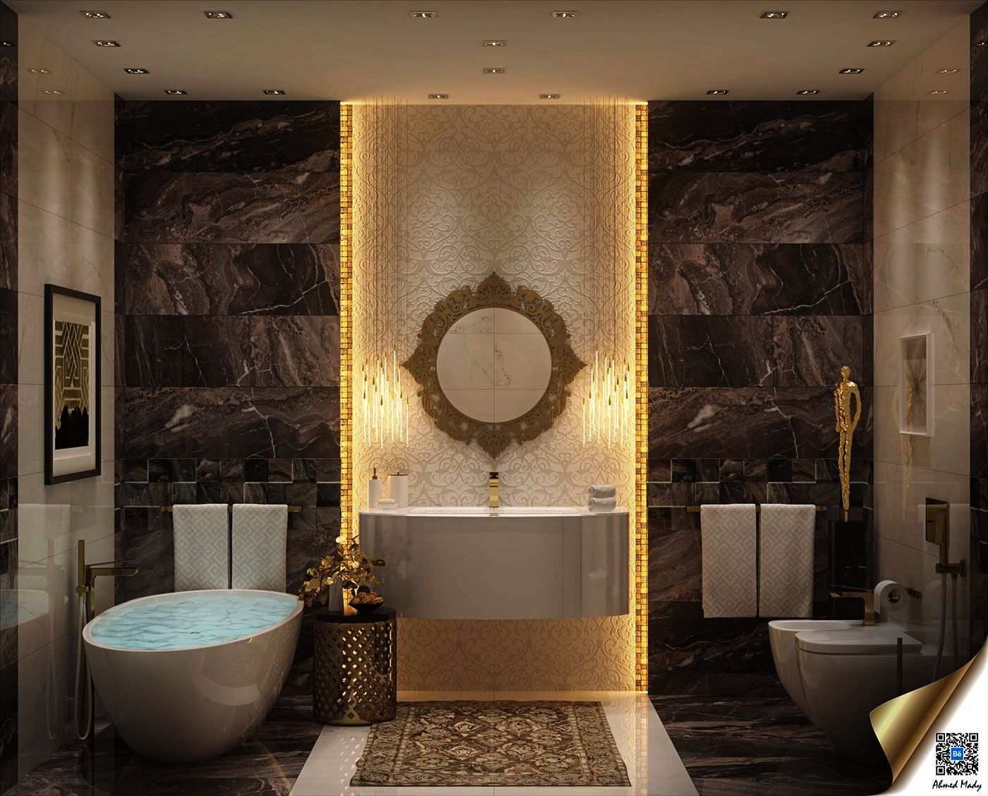 Luxury Bathrooms In Pakistan Luxury Bathrooms  Elegant bathroom