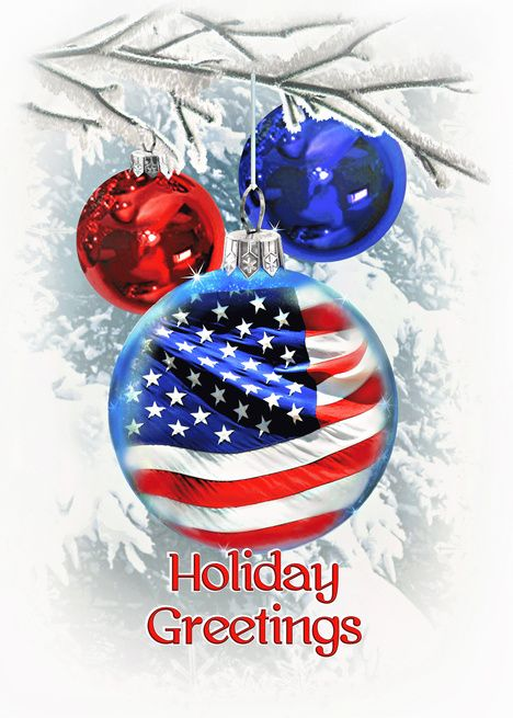 Patriotic Christmas.Patriotic Christmas Holiday Greetings For Military