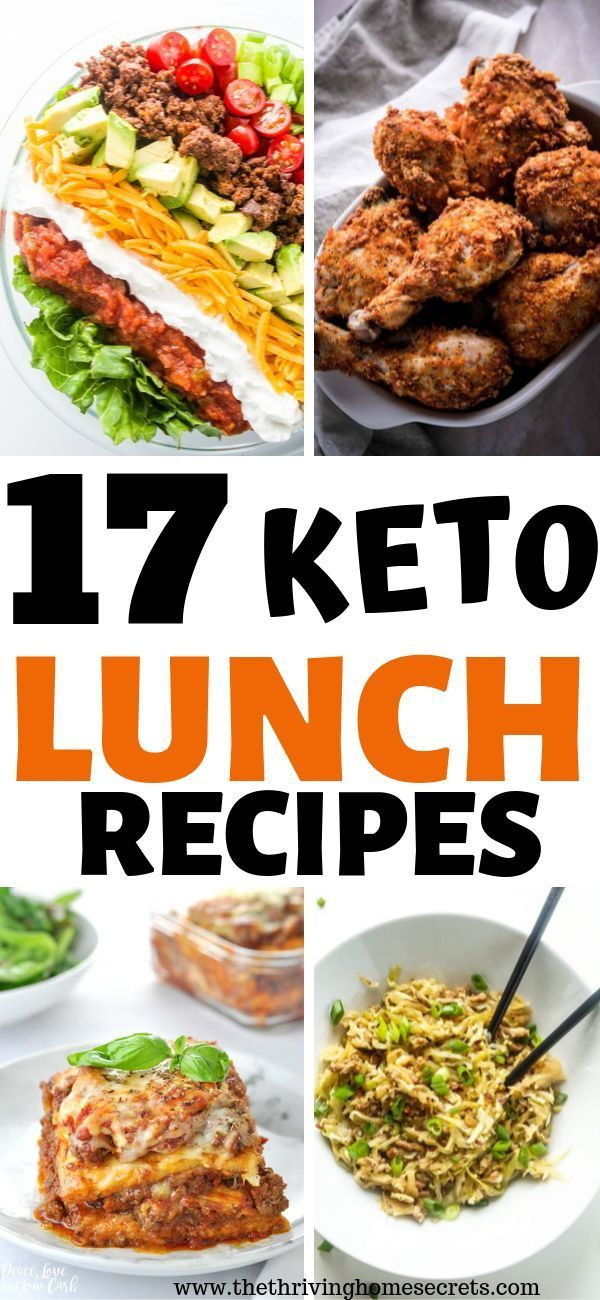 Easy Keto Lunch Ideas. 17 Low Carb Lunches Perfect For Weight Loss