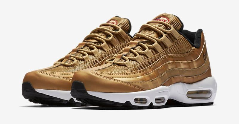 Nike Is Releasing A Collection Of Metallic Gold Air Maxes Nike
