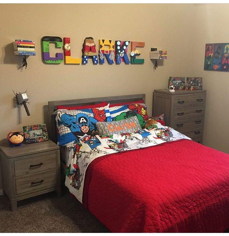Pin By Lupita Marino On Superhero Bedroom Boys Bedroom Decor
