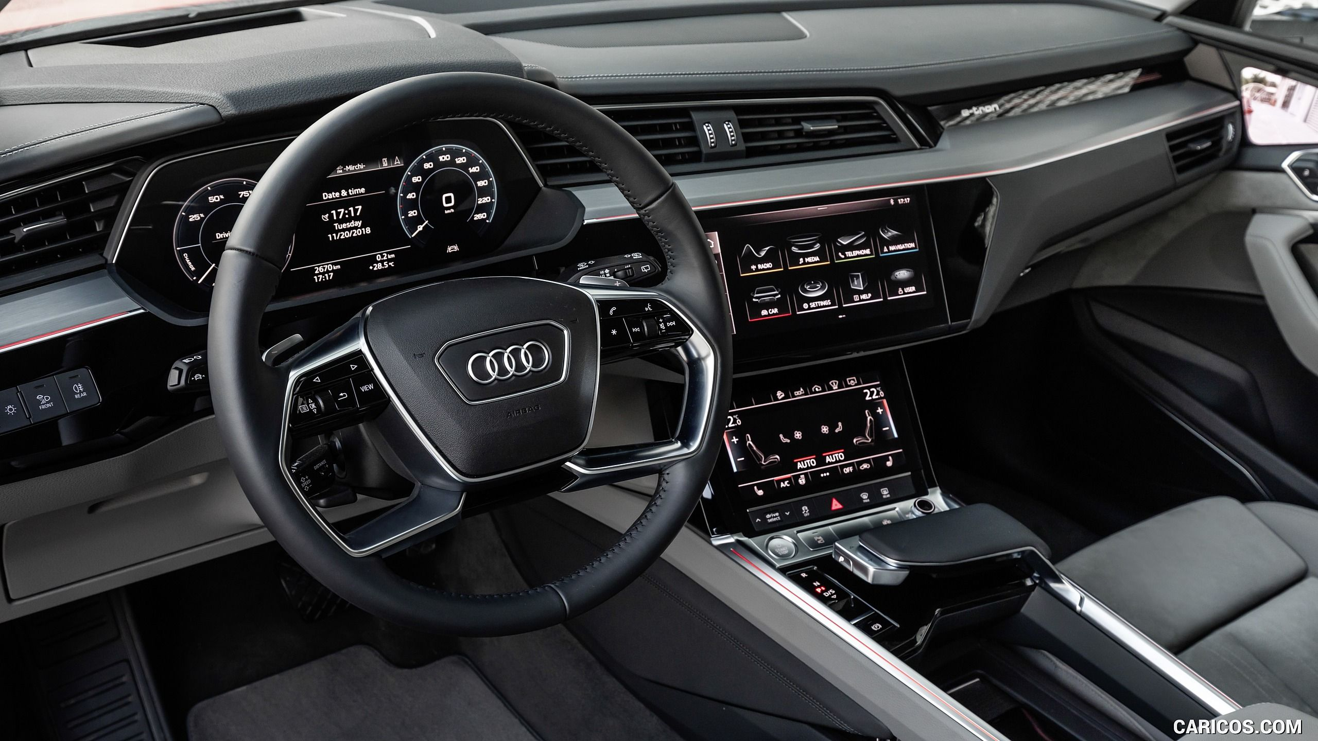 2019 Audi E Tron Interior Detail Hd Audi E Tron E Tron Audi